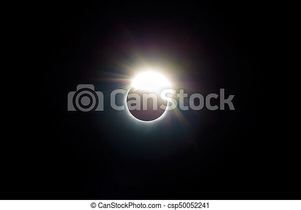 The Ring of 2017 Solar Eclipse - csp50052241