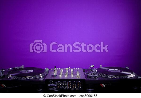 dj equipment - csp5006188