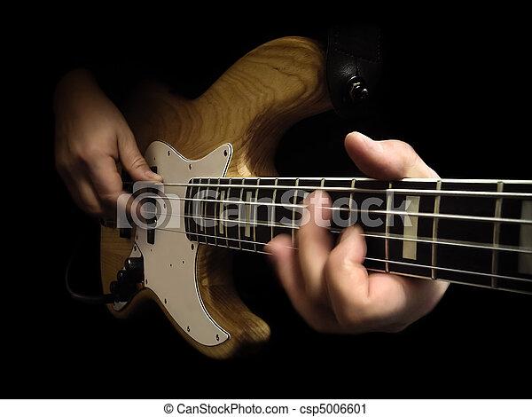 electric bass guitar - csp5006601