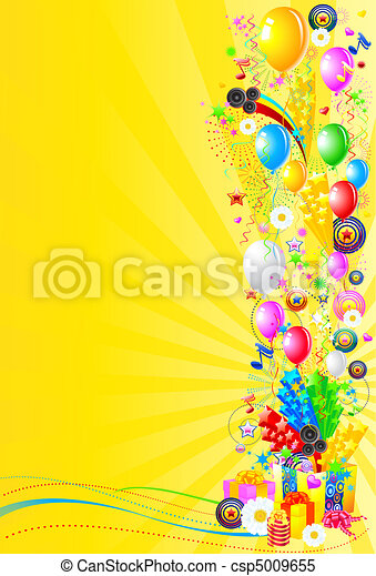 Celebration and Party background - csp5009655