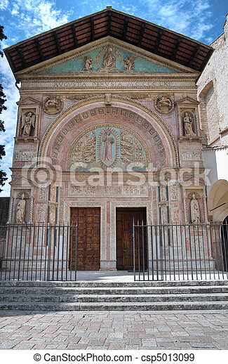 Oratory of St. Bernardino. Perugia. Umbria. - csp5013099