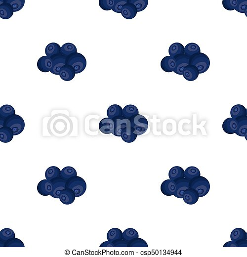Blueberry berries, sweet fruit. Fruit single icon in cartoon style vector symbol stock illustration web. - csp50134944