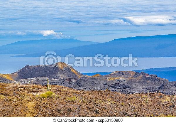 Sierra Negra Volcano, Galapagos, Ecuador - csp50150900