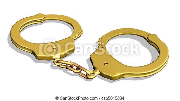 Golden Handcuffs  - csp5015834