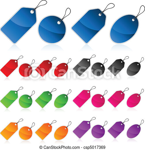 Colorful Price tags - csp5017369