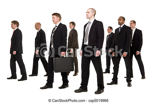 Group of businessmen - csp5019966
