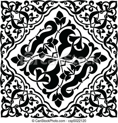 Arabesque Tile - csp5022120