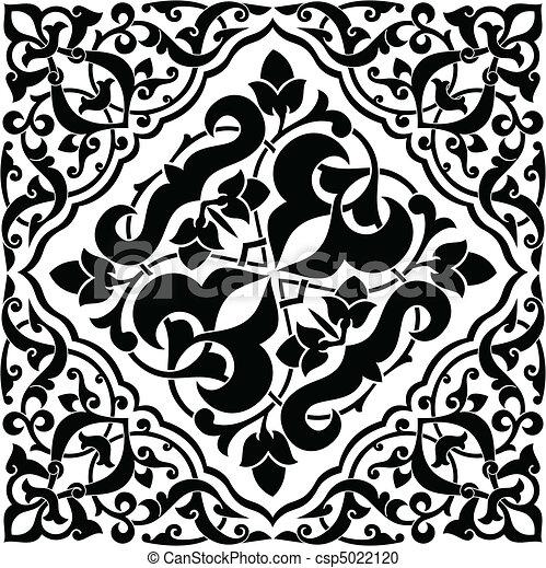 Arabesque Tile  - csp5022120