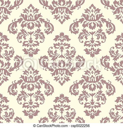 Damask Pattern - csp5022256