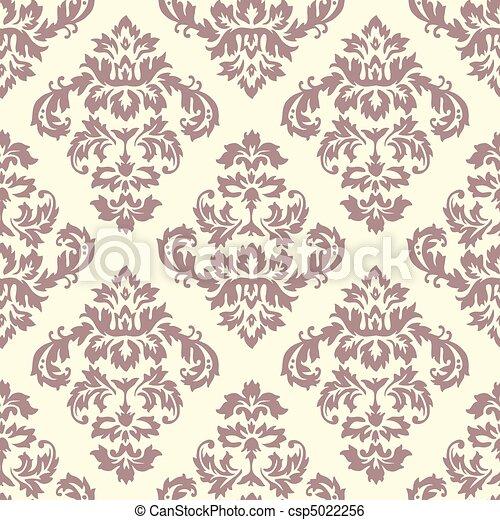 Damask Pattern  - csp5022256