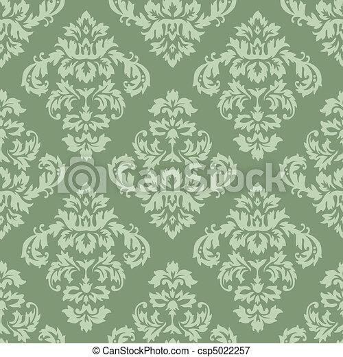Damask Pattern  - csp5022257