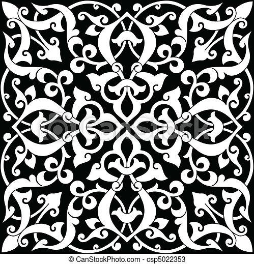 Arabesque Tile  - csp5022353