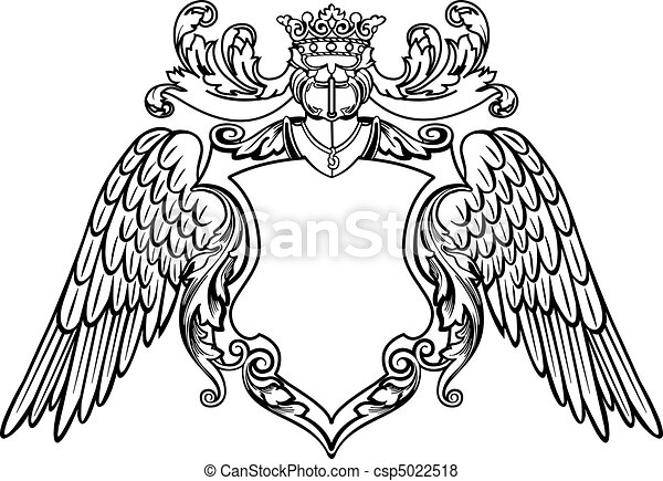 Winged Emblem - csp5022518