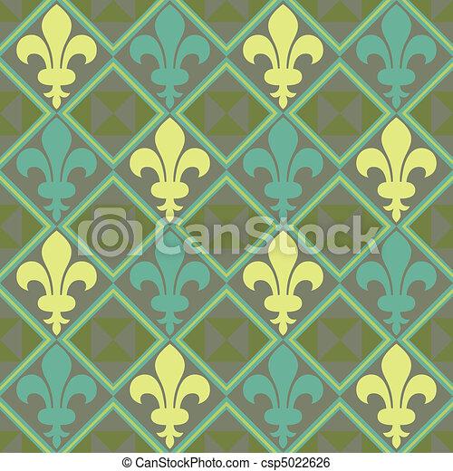 Fleur De Lis Pattern - csp5022626