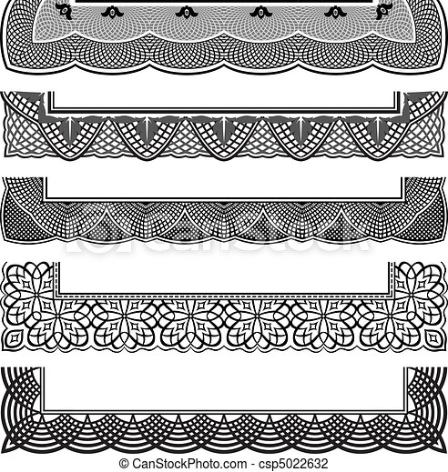 Ornate Border Set - csp5022632