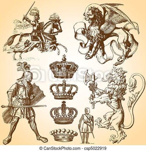 Heraldry Art  - csp5022919