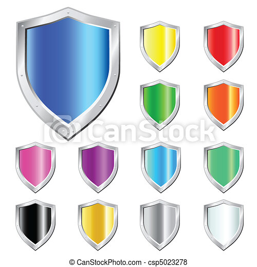 Glossy Shields - csp5023278