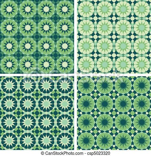 Geometric Seamless Pattern  - csp5023320