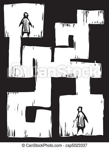 Maze People - csp5023337