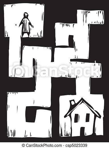 Path to Housing - csp5023339