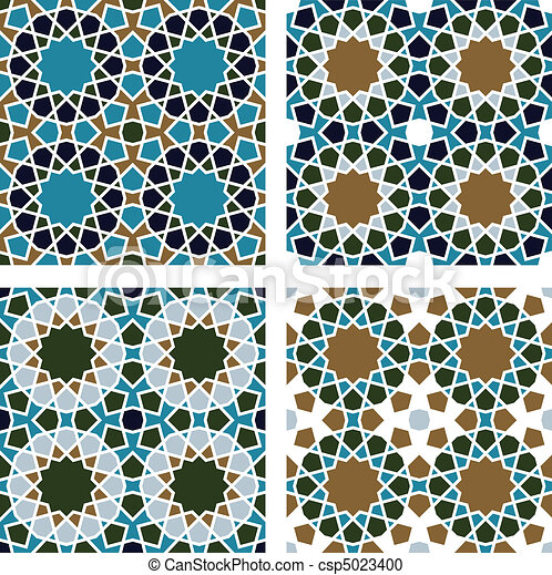 Geometric Seamless Pattern  - csp5023400