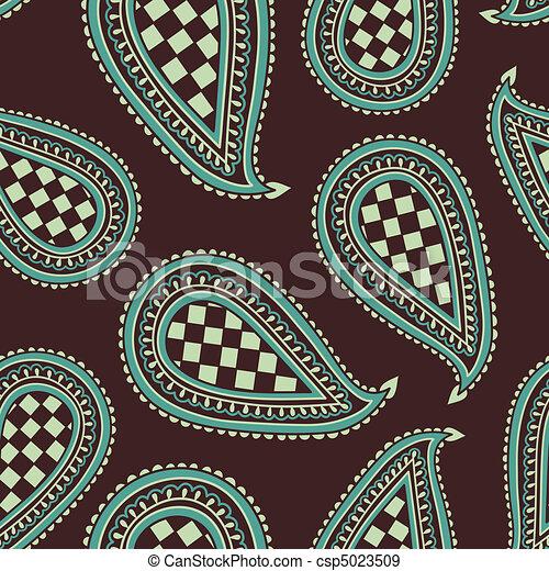 Paisley Pattern - csp5023509