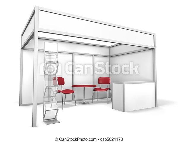 Trade Exhibition Stand - csp5024173