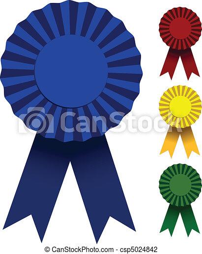 Award Ribbons - csp5024842
