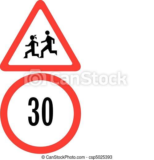 speed limit - csp5025393