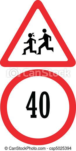 speed limit - csp5025394