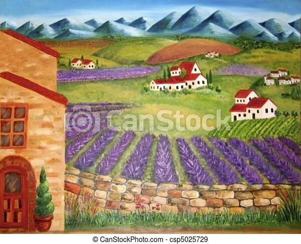 Italian valley - csp5025729