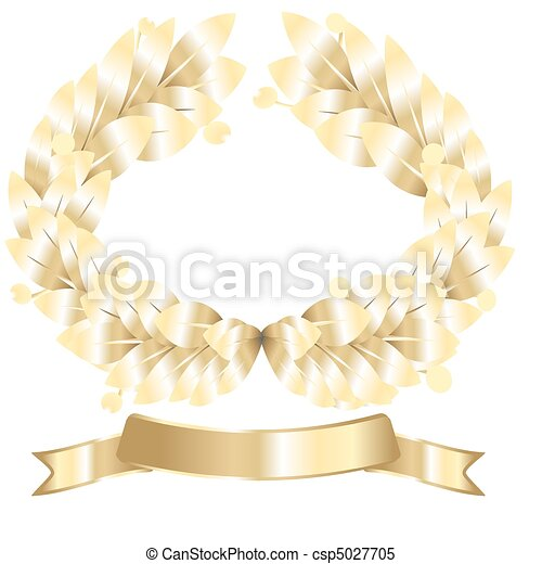 laurel wreath - csp5027705