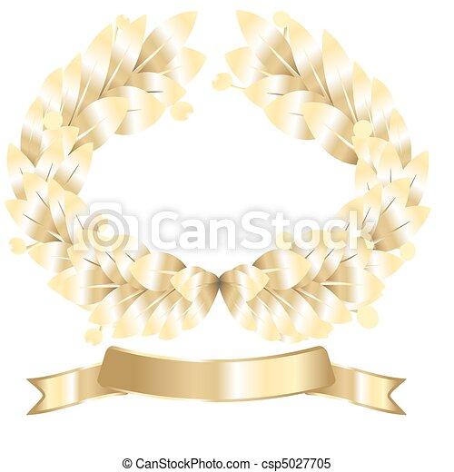 laurel wreath - csp5027705