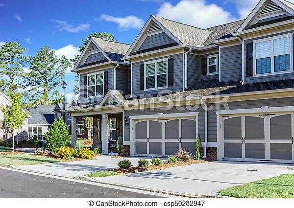 Nice development of new townhouses