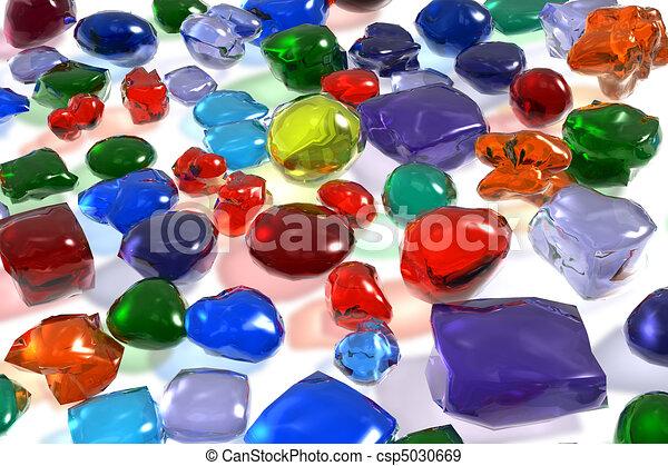Color gemstones - csp5030669