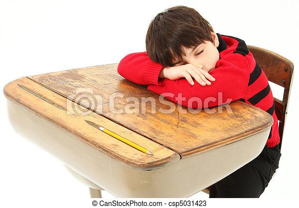 Student Child Sleeping Desk School - csp5031423