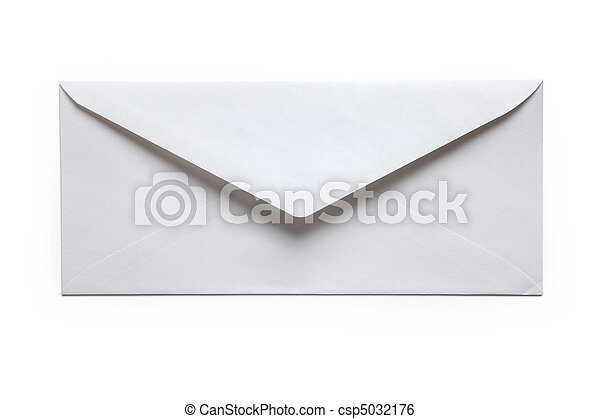White Envelope - csp5032176