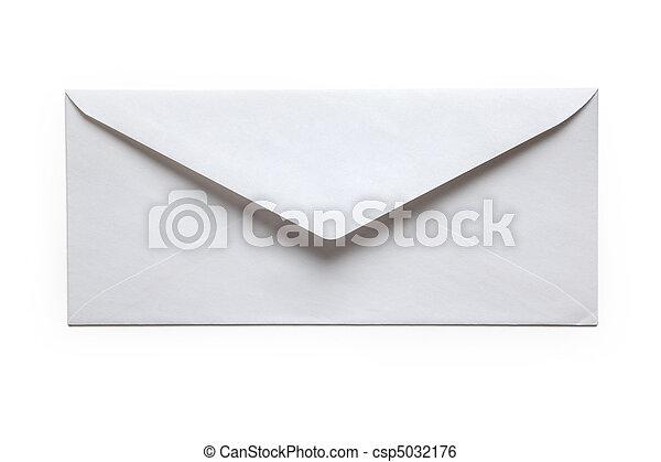 White Envelope - csp5032176