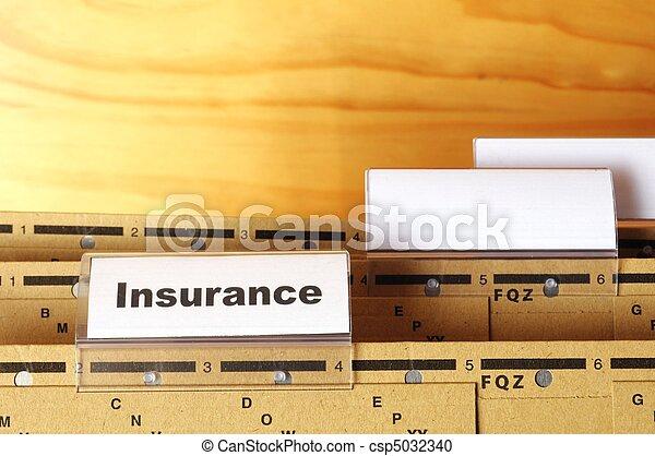 insurance - csp5032340