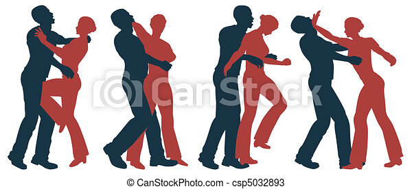 Female self defense - csp5032893