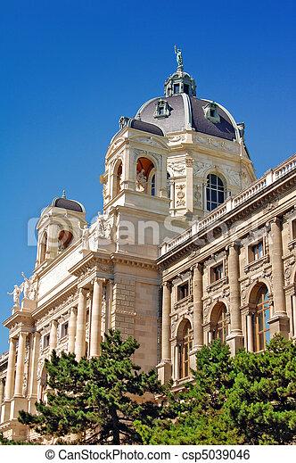 Museum in Vienna, Austria - csp5039046