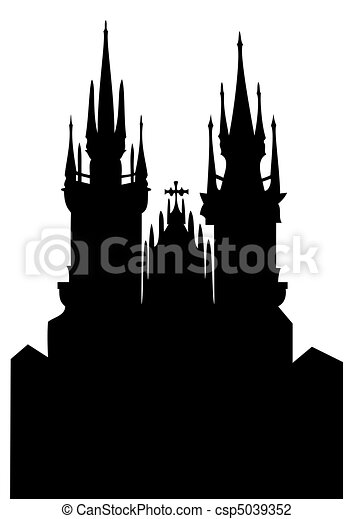 Church of Our Lady before Tyn - csp5039352