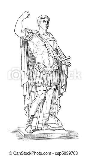 drawings of augustus aka octavianus aka gaius julius Real Pictures of Julius Caesar julius caesar clipart free