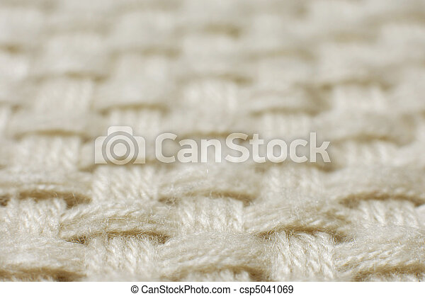Wool weave fabric texture - csp5041069