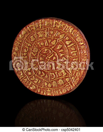 Phaistos Disc - csp5042401