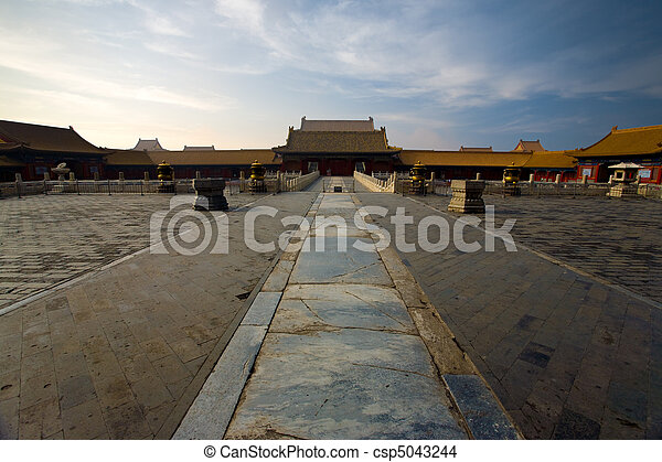 Forbidden City Palace Of Heavenly Purity - csp5043244