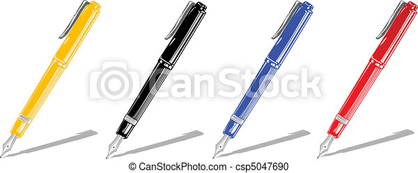 Vector illustration color handles - csp5047690