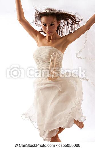 Dancing Bride - csp5050080