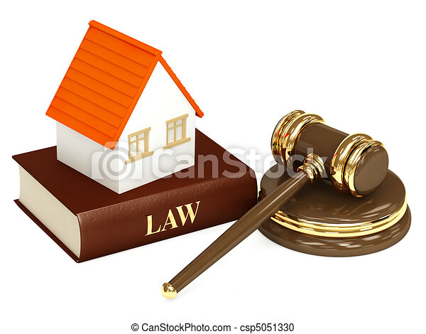 House and law - csp5051330