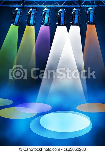 Spotlights - csp5052280